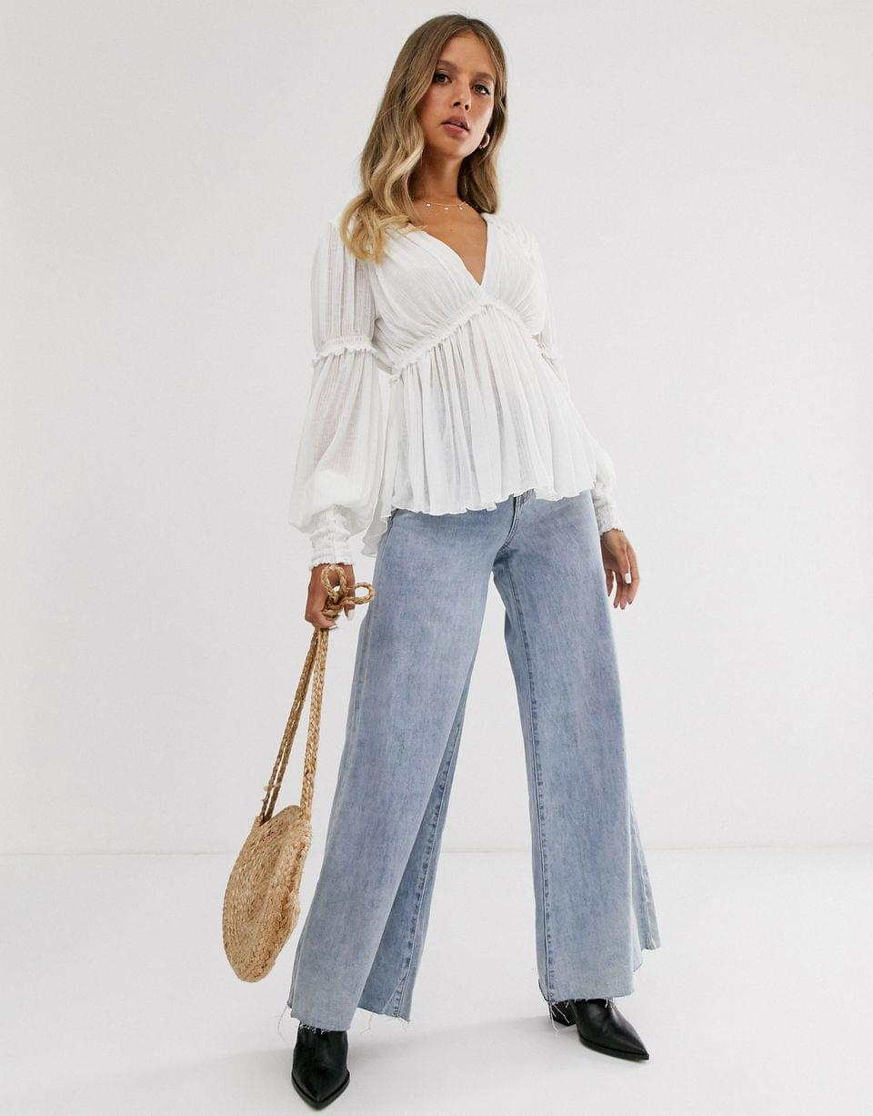 Women's Free People day dreaming top