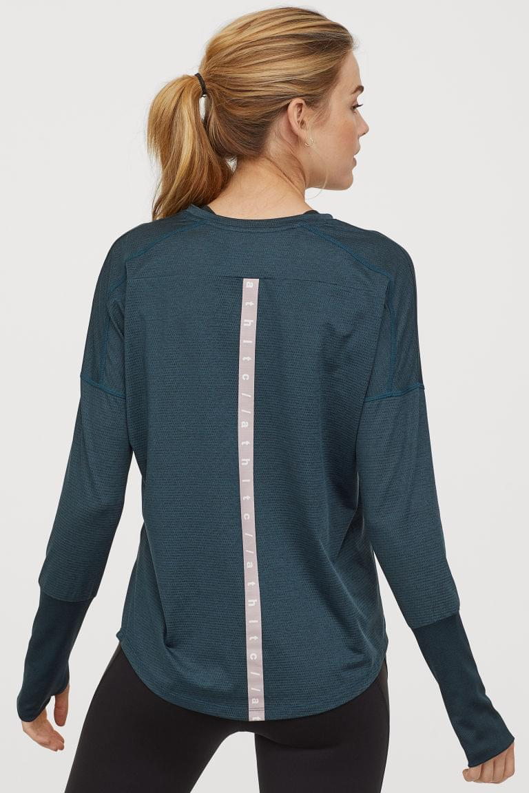 Women's Long-sleeved Sports Top