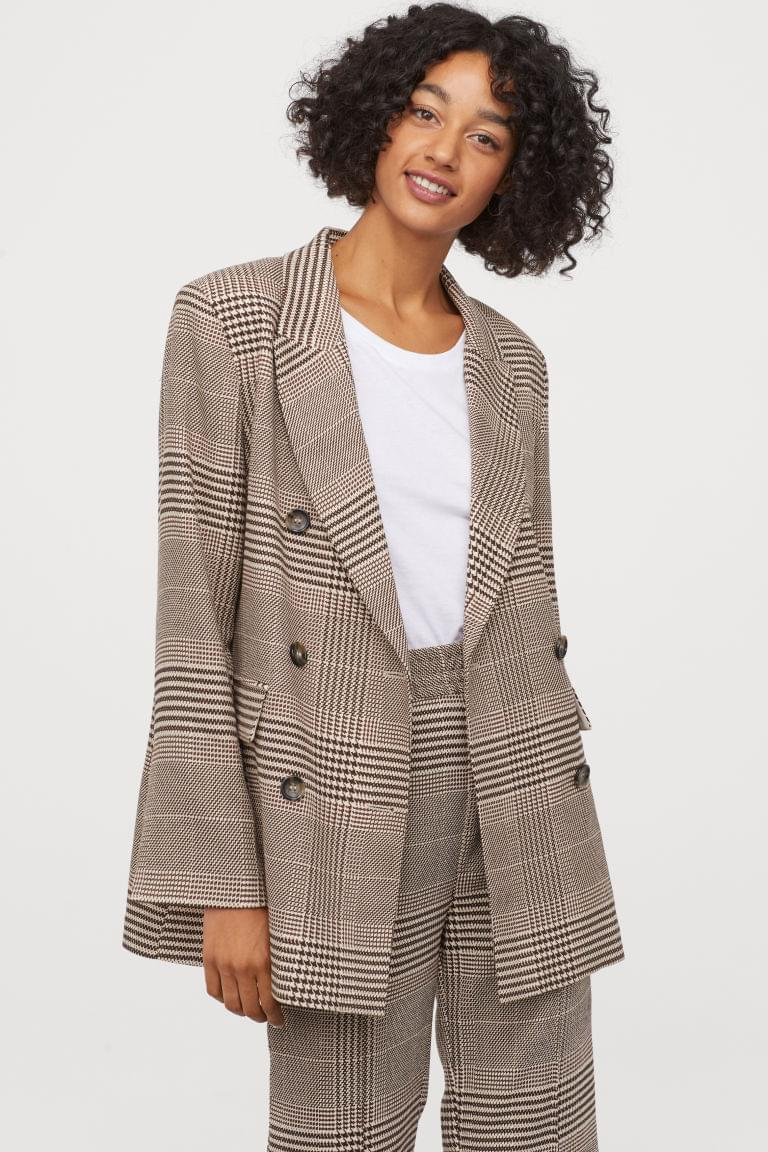 Women's Double-breasted Jacket