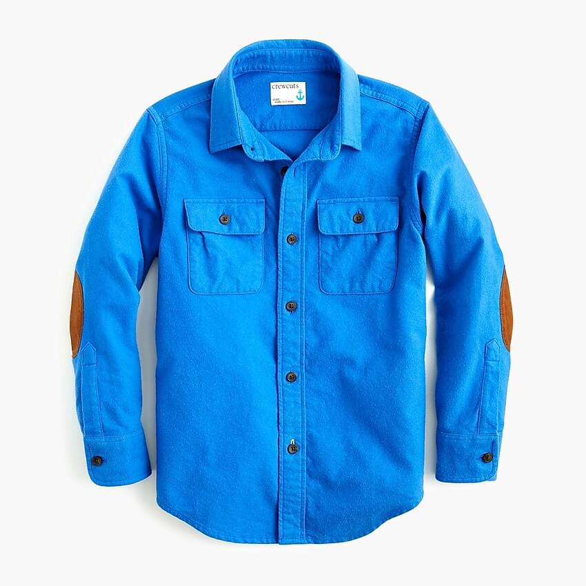 Boy's Boys' chamois shirt