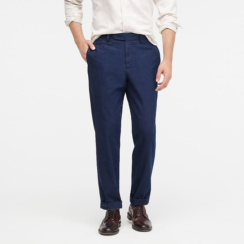 Men's OMNIGOD slim-fit pant in indigo