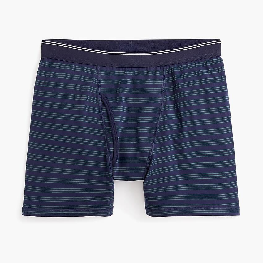 Men's Knit boxer brief in stripe