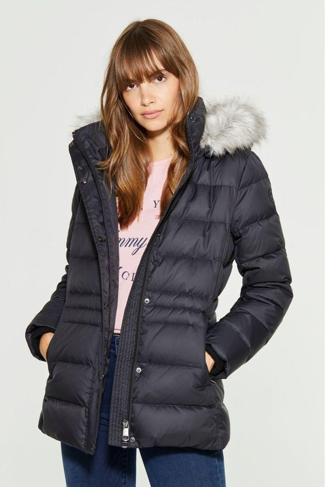 WOMEN Tommy Hilfiger Black New Tyra Down Jacket