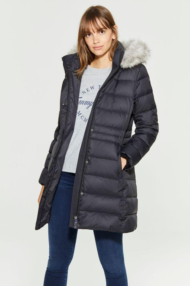 WOMEN Tommy Hilfiger Black New Tyra Down Coat