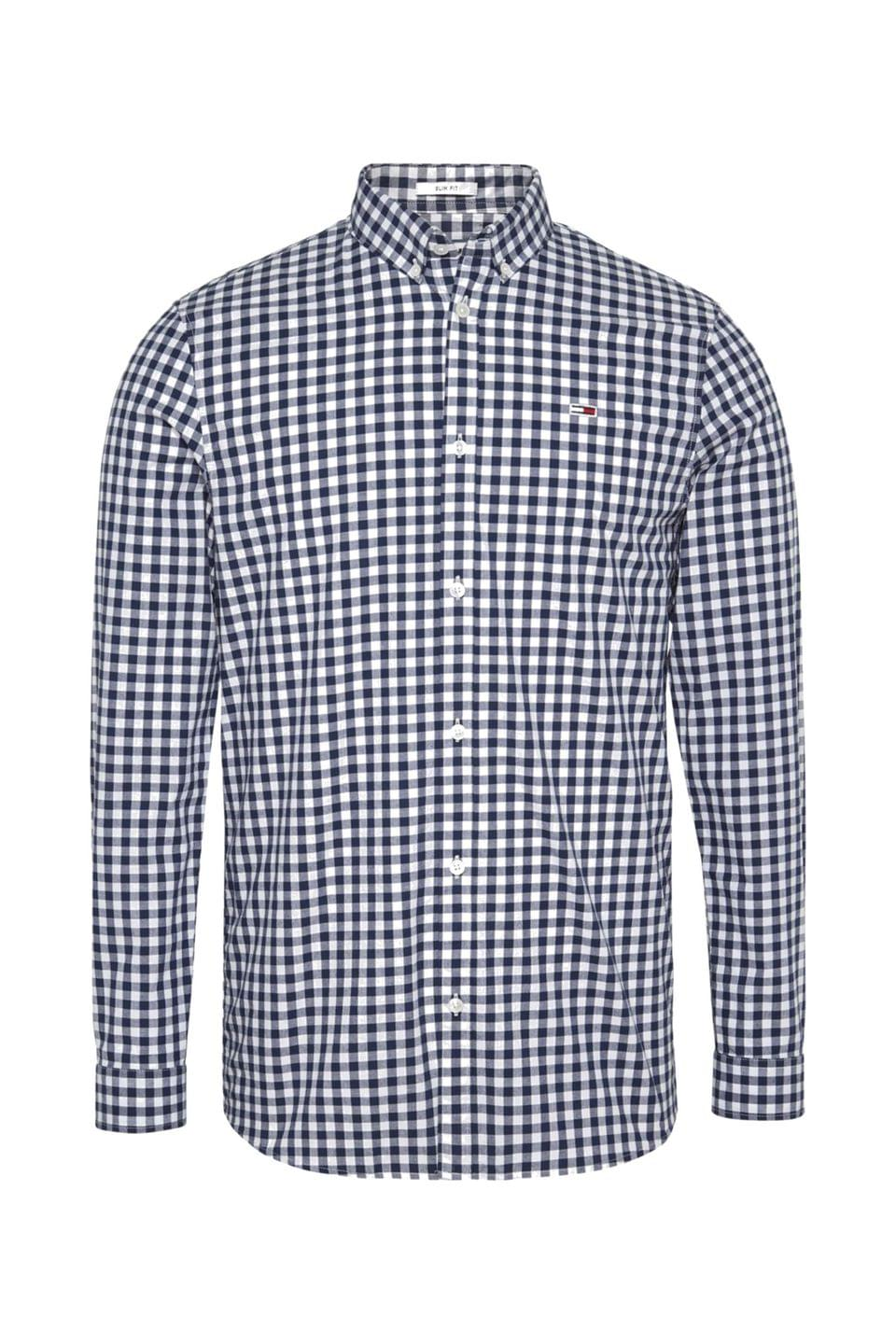 Men's Tommy Jeans Blue Gingham Shirt