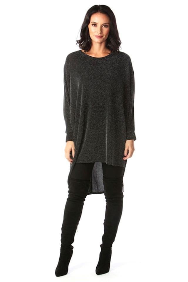 WOMEN Want That Trend Shimmer Batwing Top