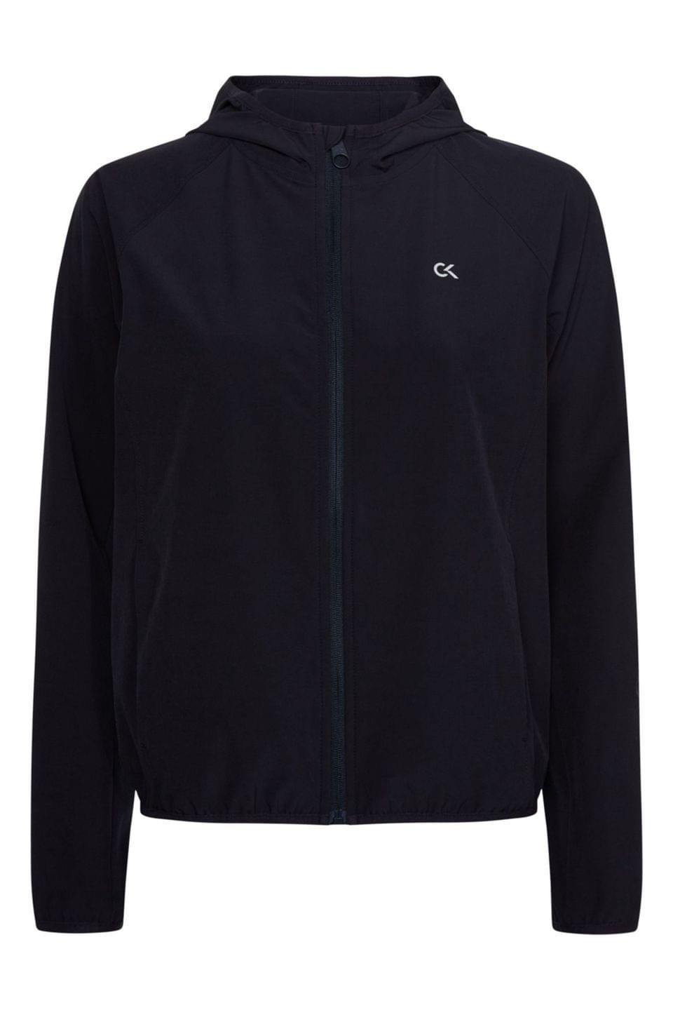Women's Calvin Klein Performance Blue Windbreaker Jacket