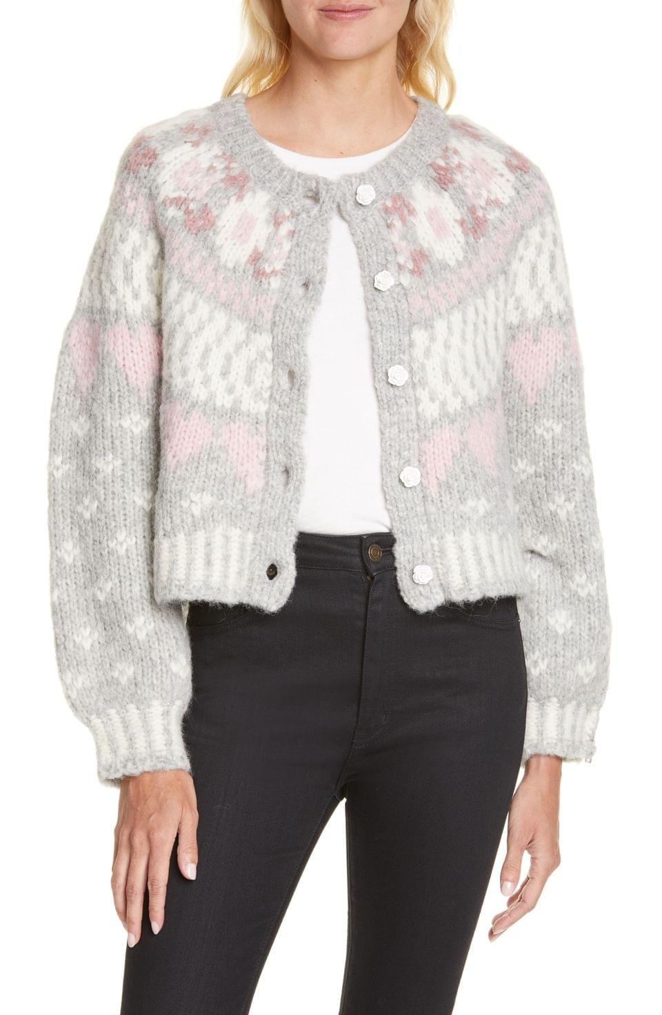 Women's LoveShackFancy Jamie Cardigan