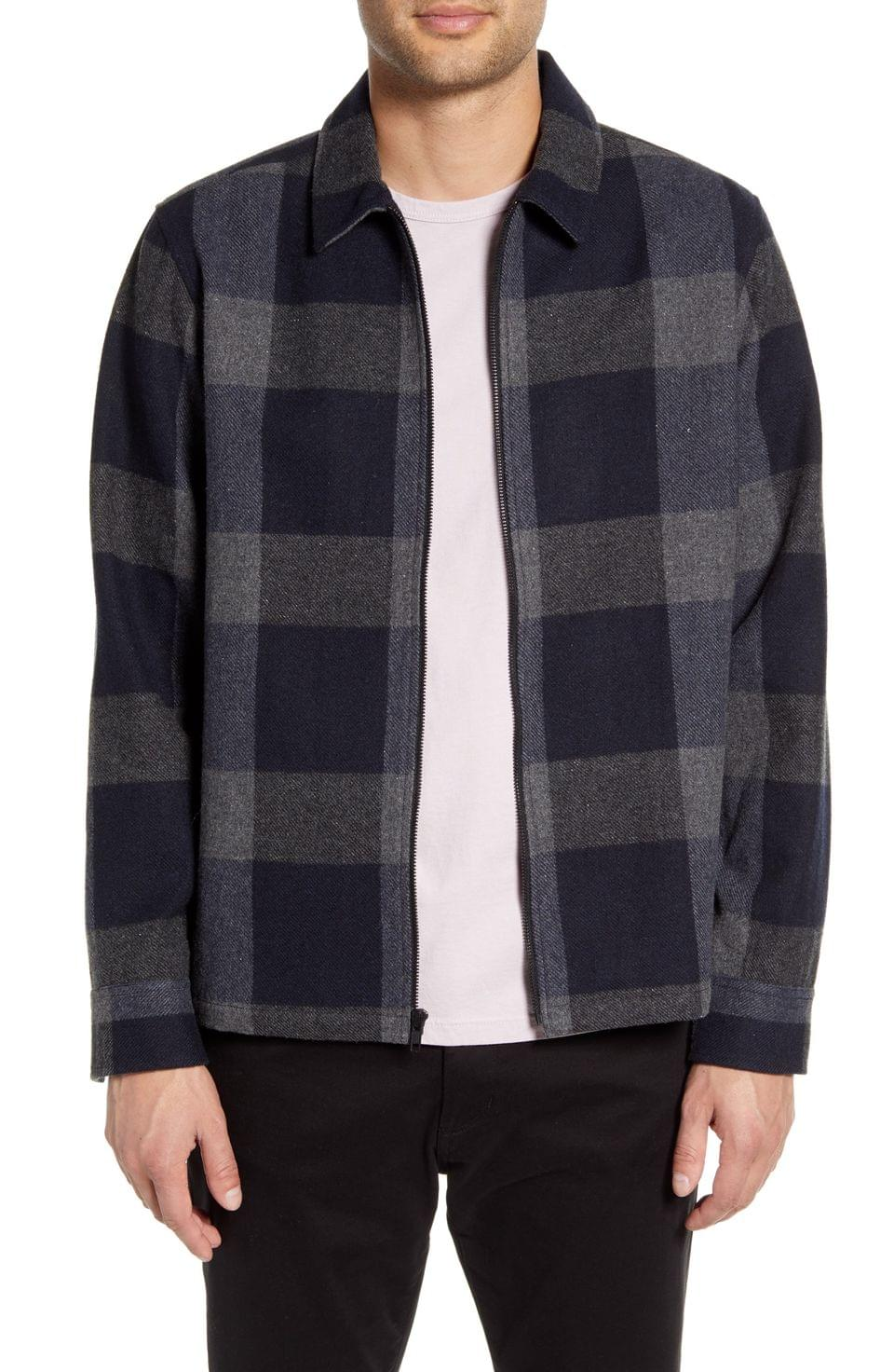Men's Calibrate Check Shirt Jacket