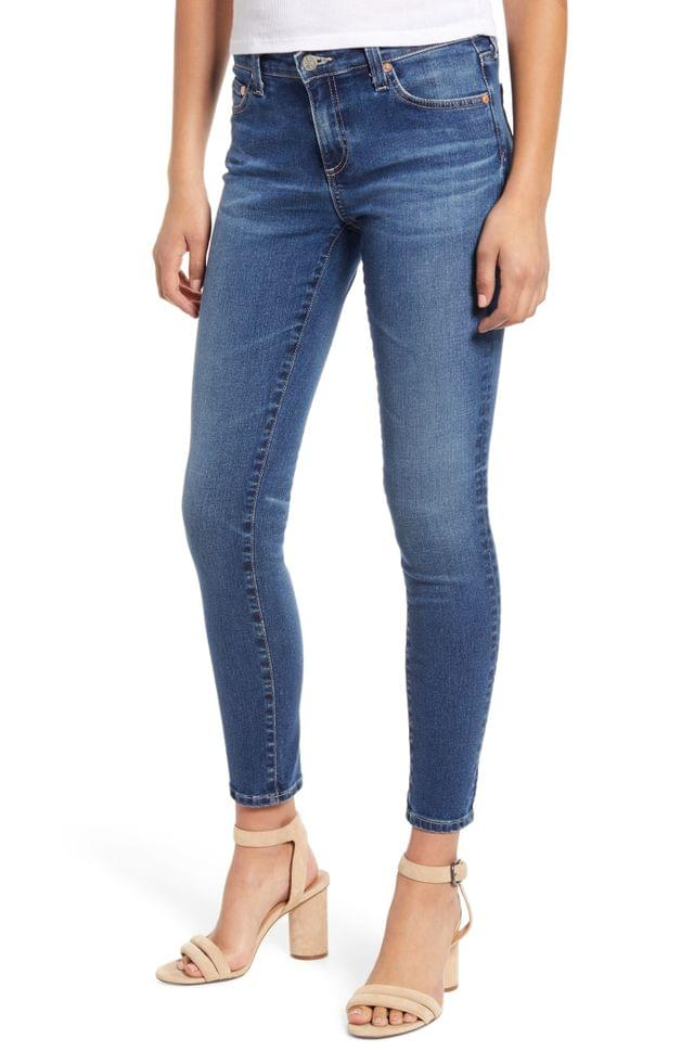 WOMEN AG The Legging Ankle Super Skinny Jeans (15 Years Devotion) (Nordstrom Exclusive Color)
