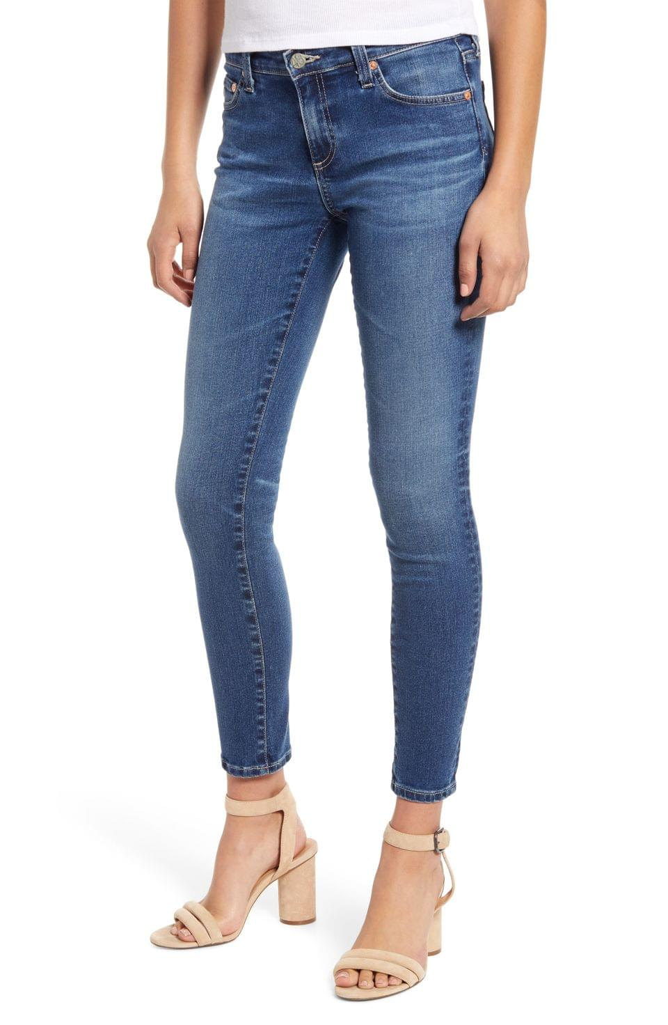 Women's AG The Legging Ankle Super Skinny Jeans (15 Years Devotion) (Nordstrom Exclusive Color)