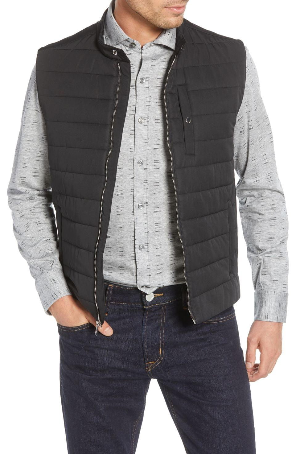 Men's Bugatchi Quilted Vest