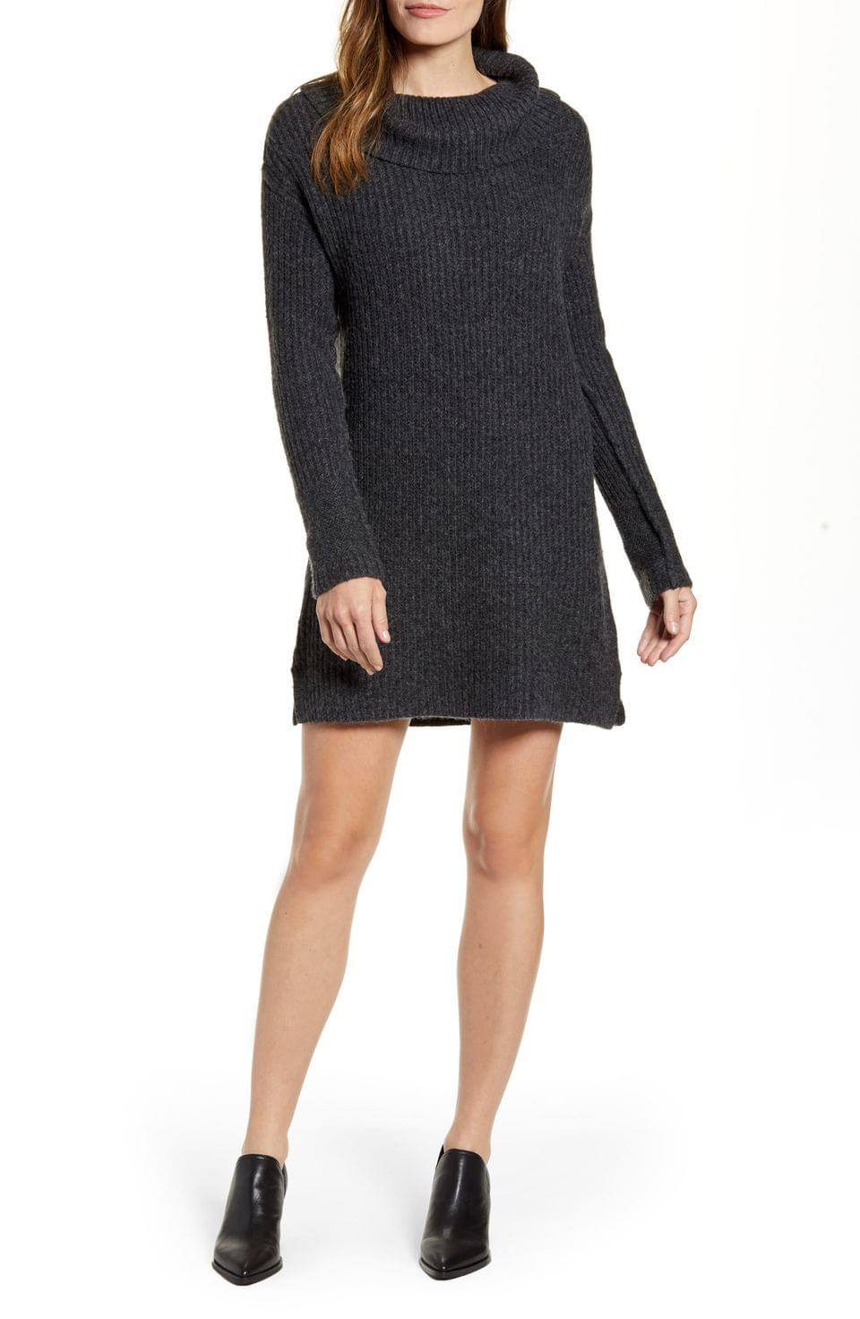 Women's Calson Cozy Links Long Sleeve Sweater Dress
