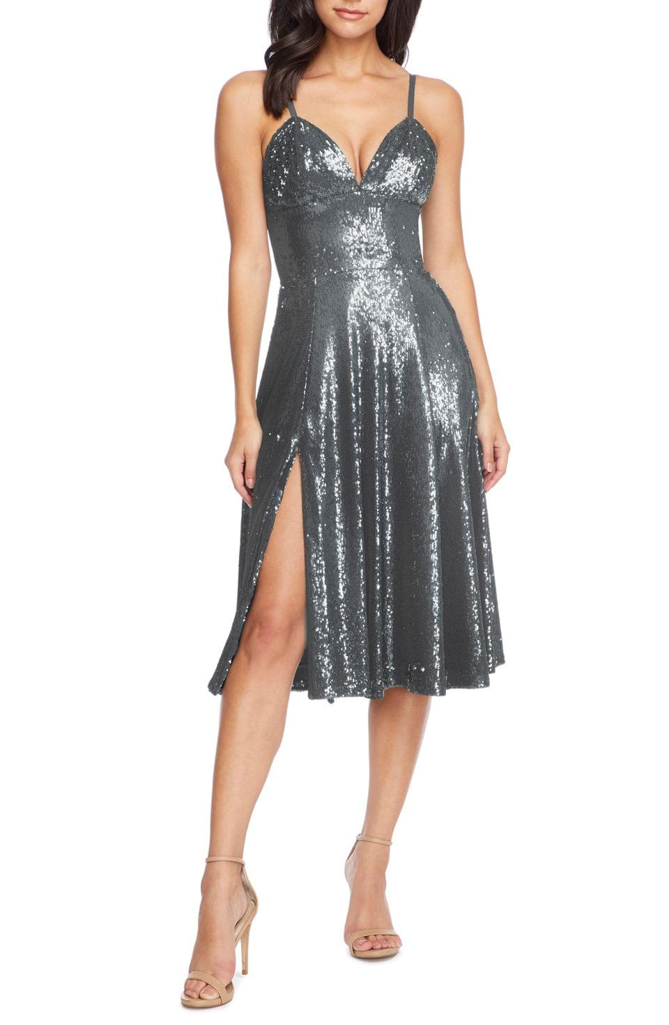 Women's Dress the Population Mimi Sequin Cocktail Dress