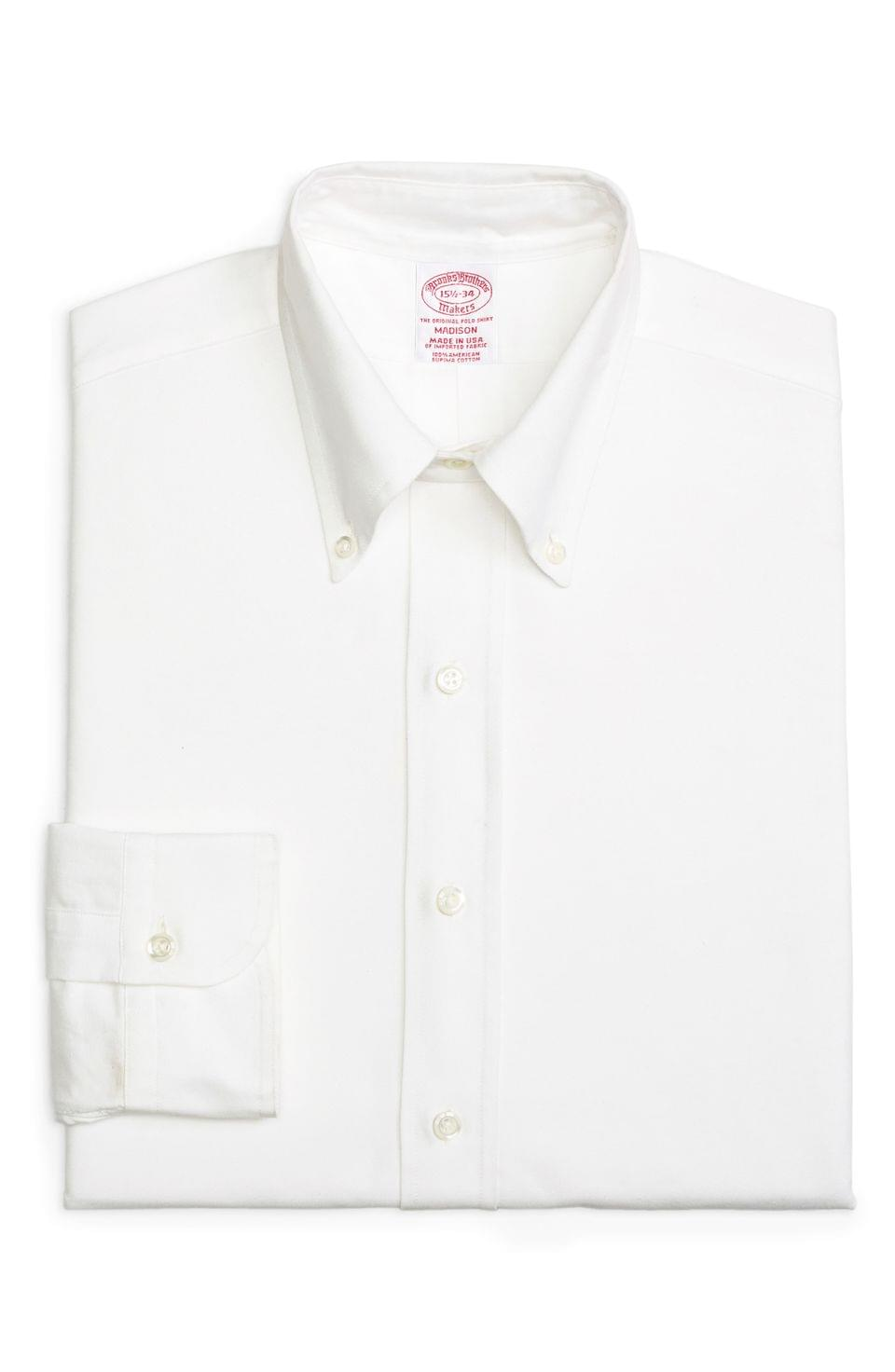 Men's Brooks Brothers Madison Classic Fit Solid Dress Shirt