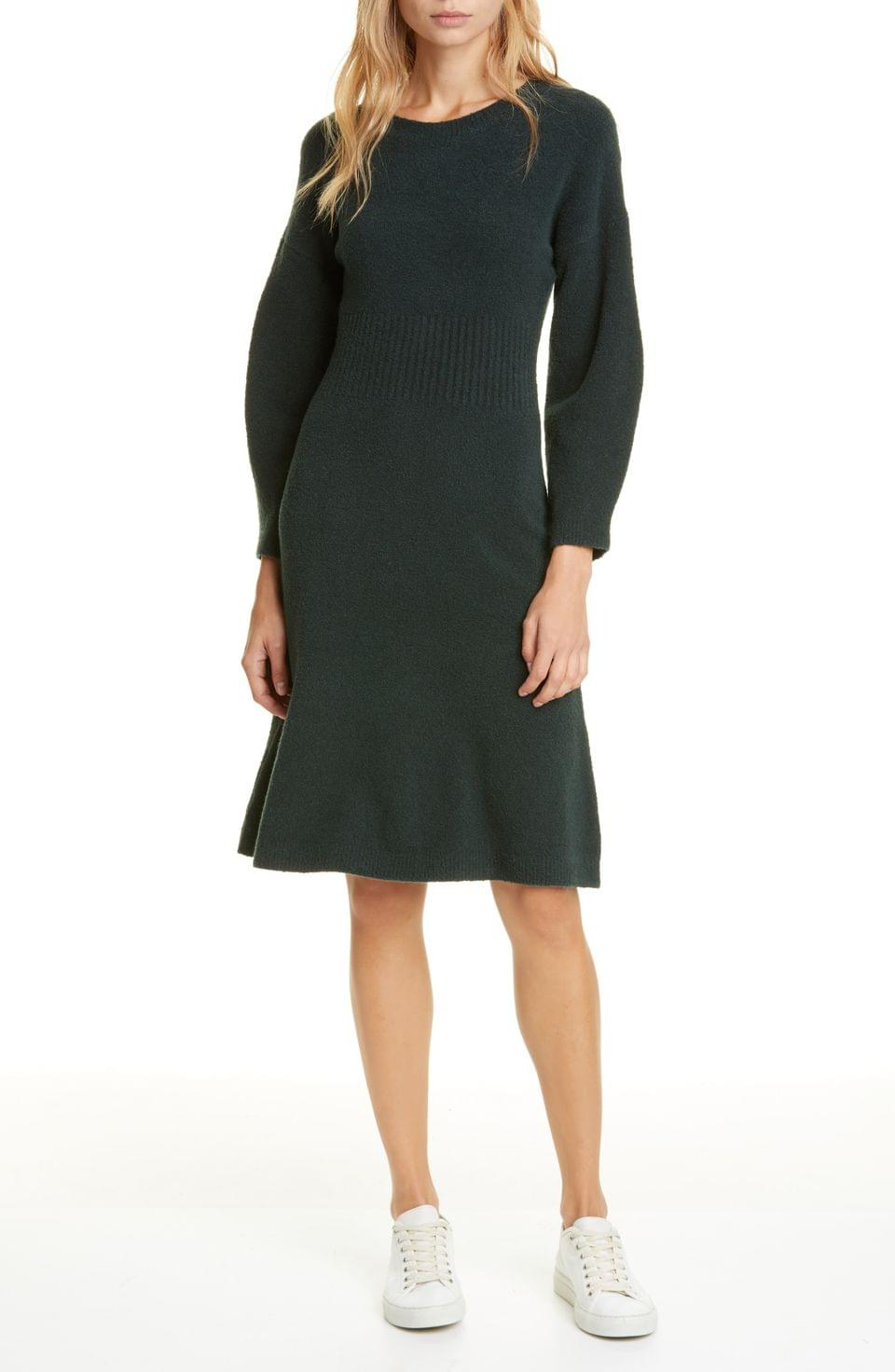 Women's kate spade new york long sleeve sweater dress