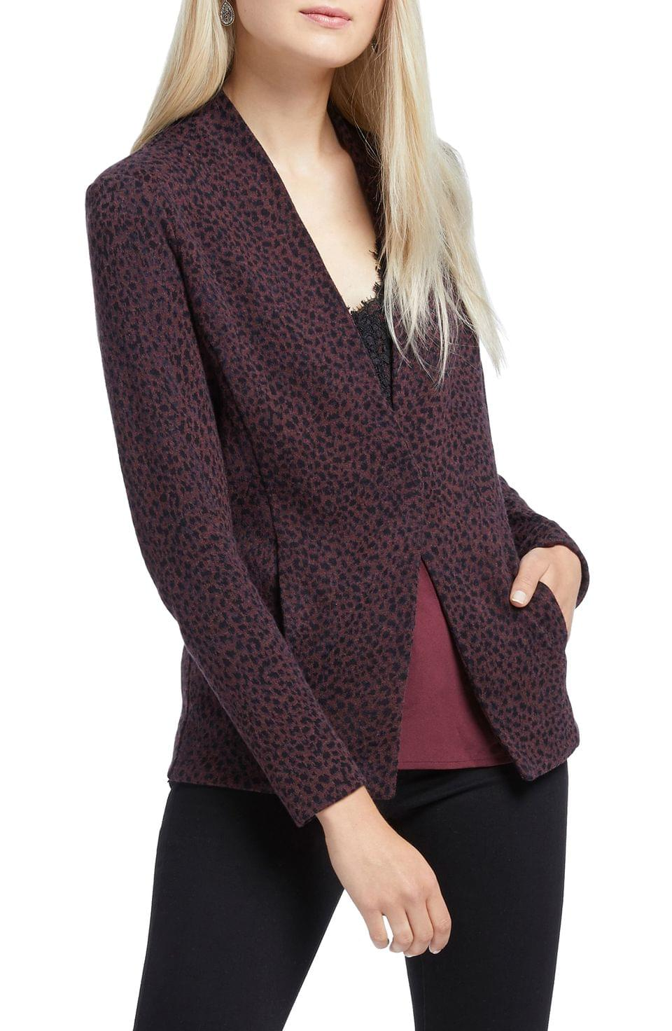 Women's NIC+ZOE Animal Print Jacket (Regular & Petite)