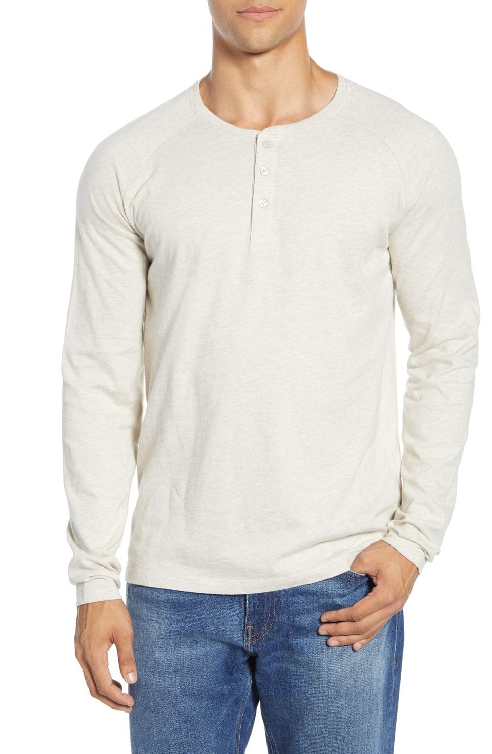 Men's life/after/denim League Long Sleeve Henley