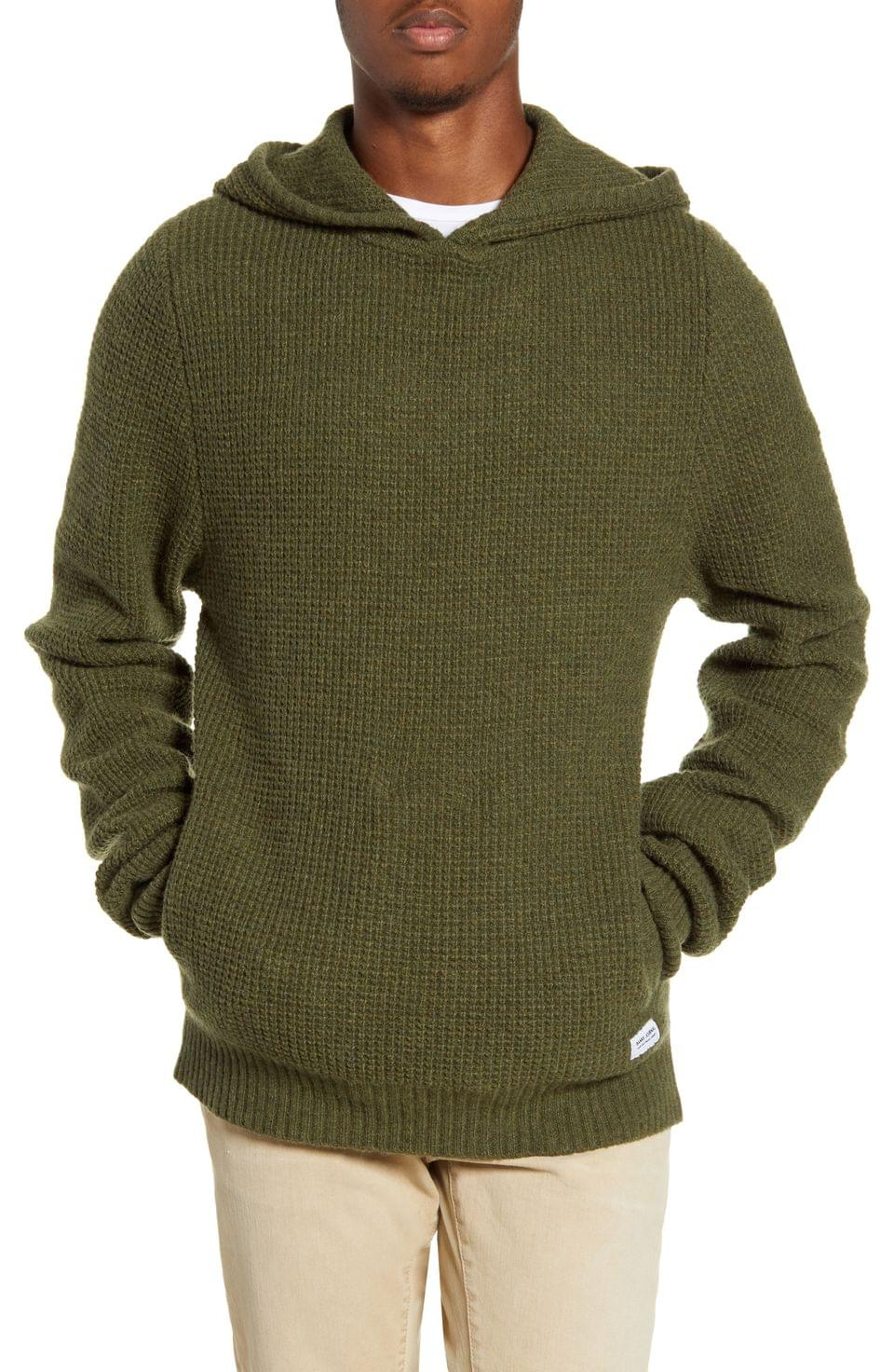 Men's Banks Journal Across Thermal Sweater Hoodie