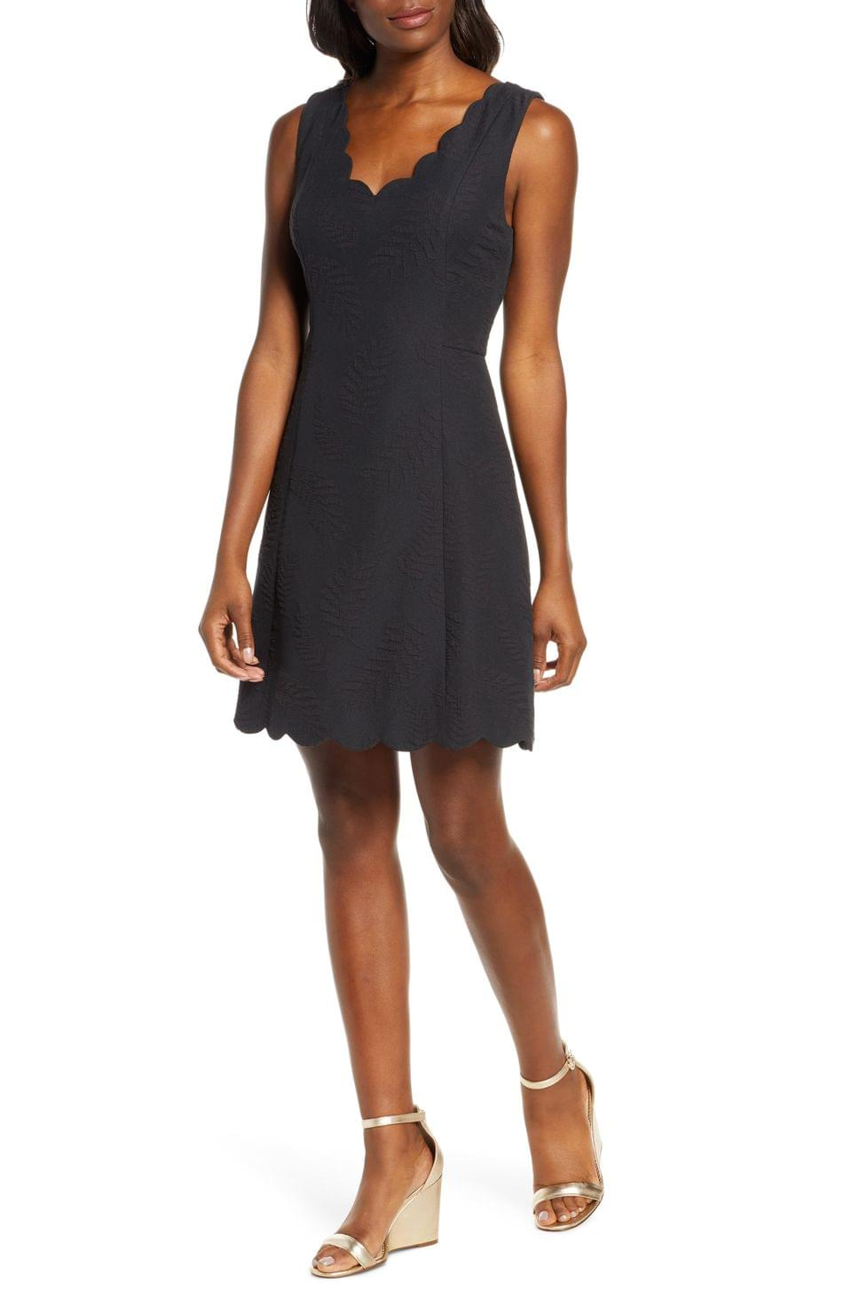 Women's Lilly Pulitzer Sabeen Stretch Jacquard Fit & Flare Dress