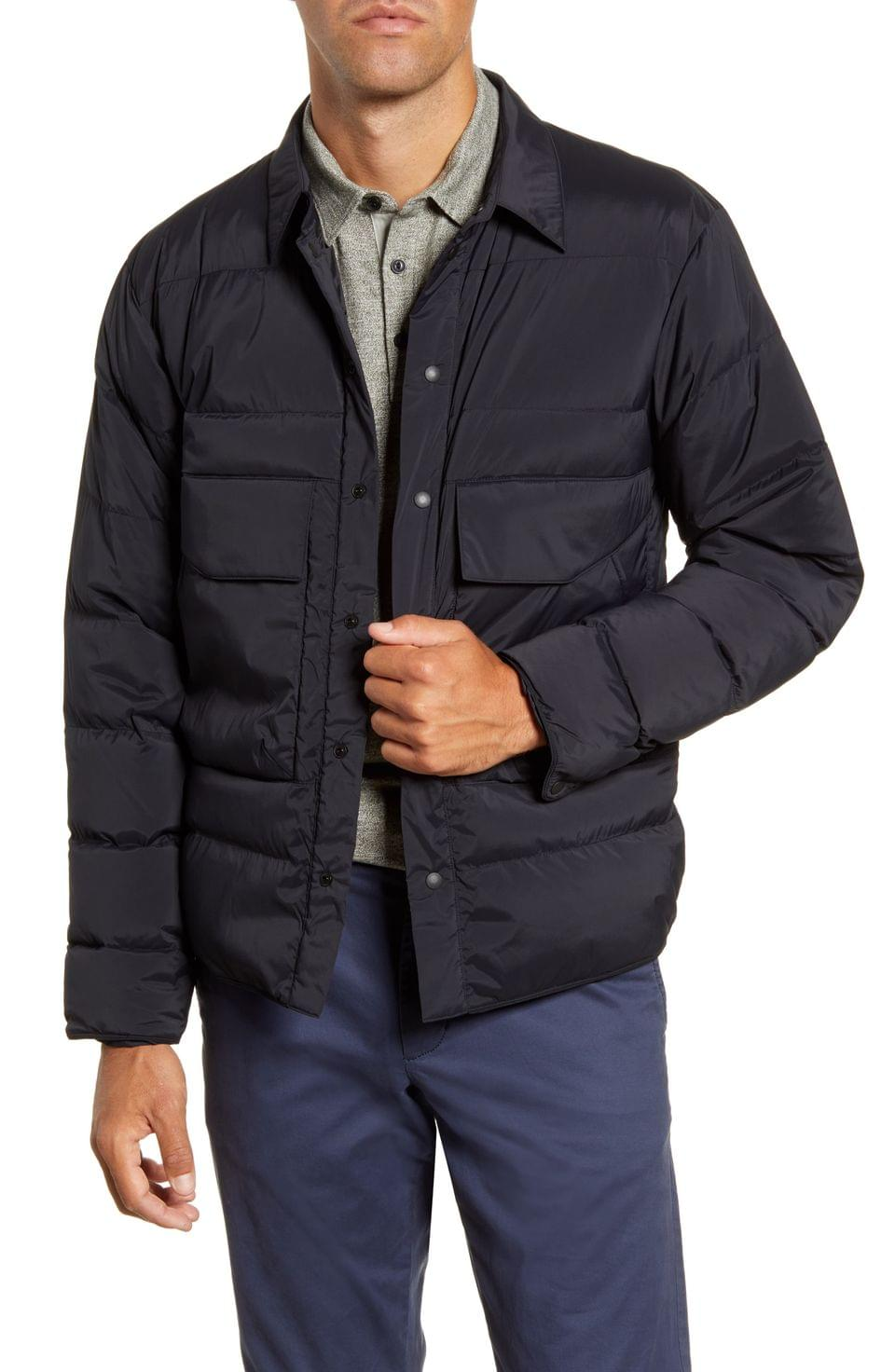 Men's GOLDWIN Water Repellent Down Shirt Jacket