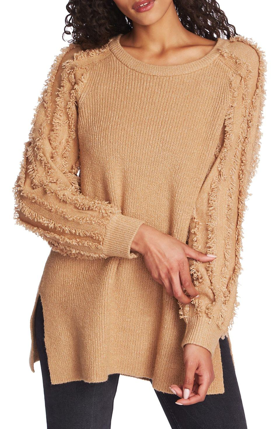 Women's 1.STATE Fringe Sleeve Tunic