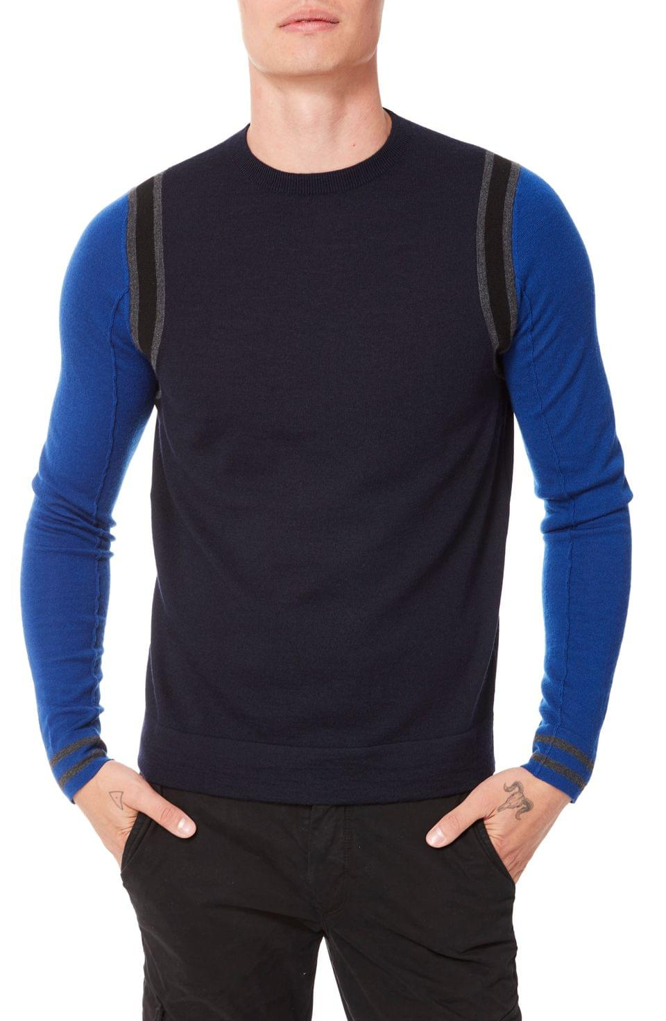 Men's Good Man Brand MVP Slim Fit Colorblock Wool Sweater