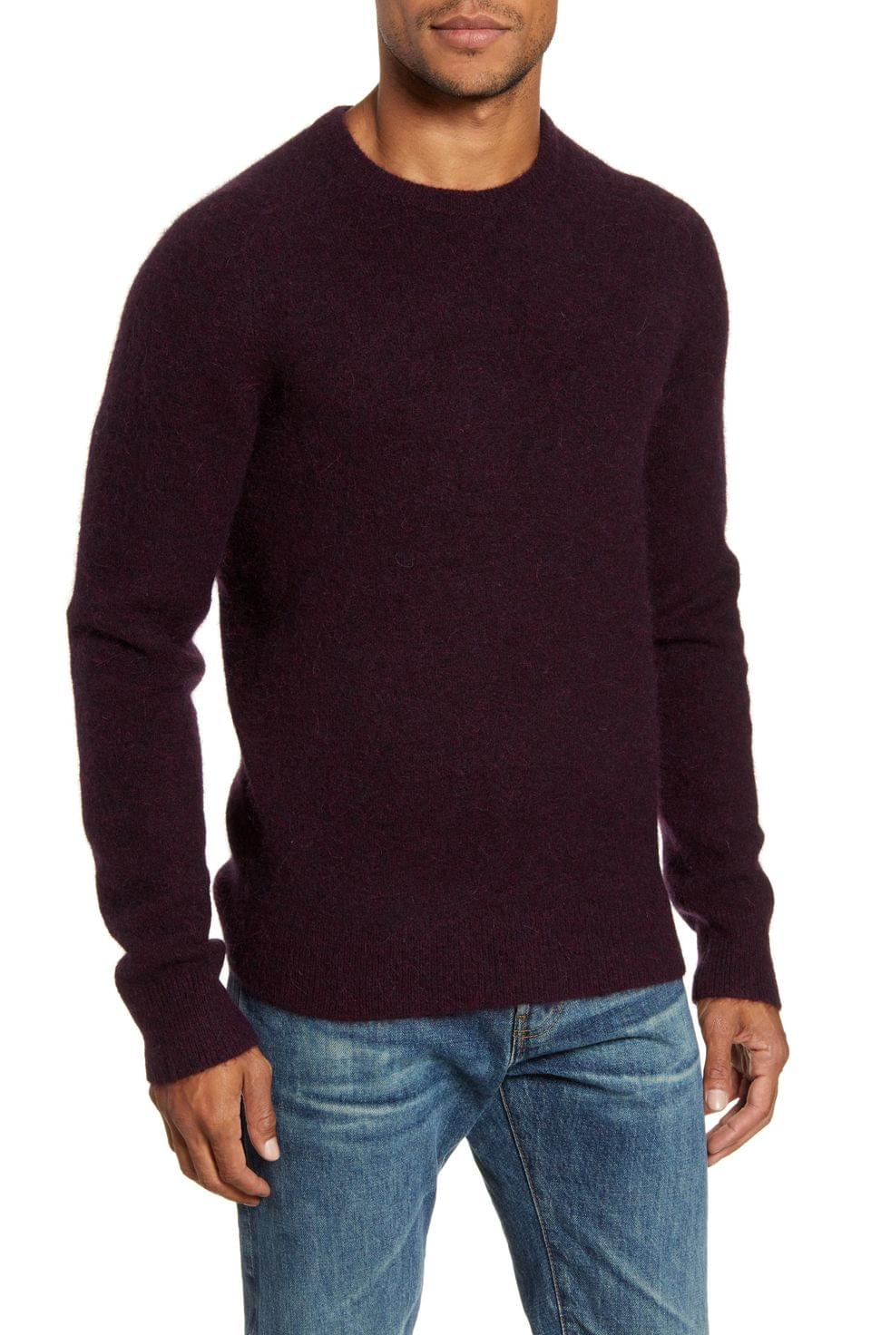 Men's Todd Snyder Solid Crewneck Sweater