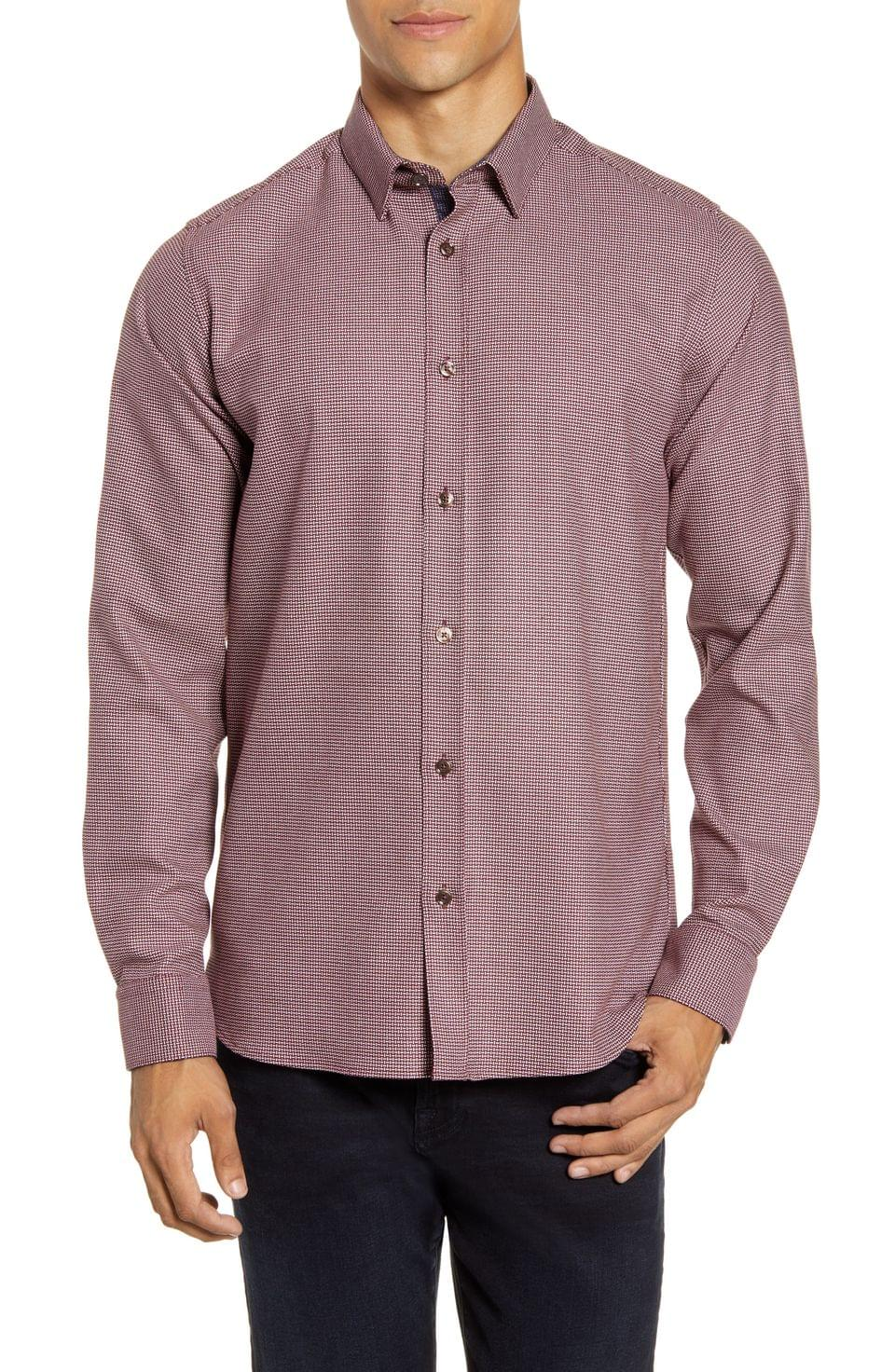 Men's Ted Baker London Slim Fit Button-Up Shirt