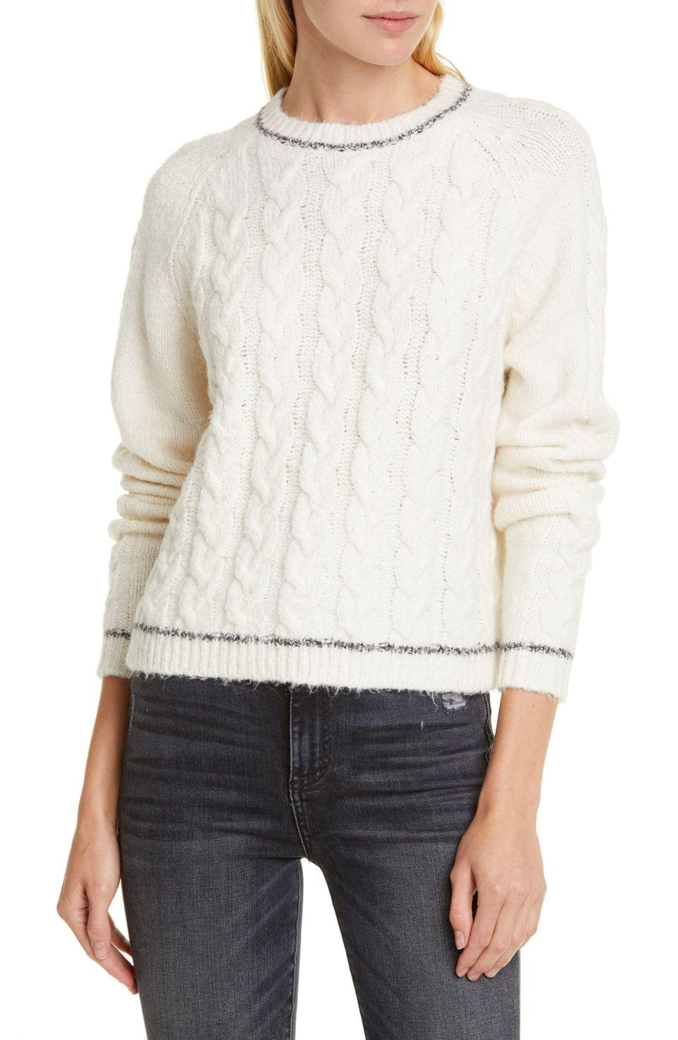 Women's Line Freya Cable Knit Sweater