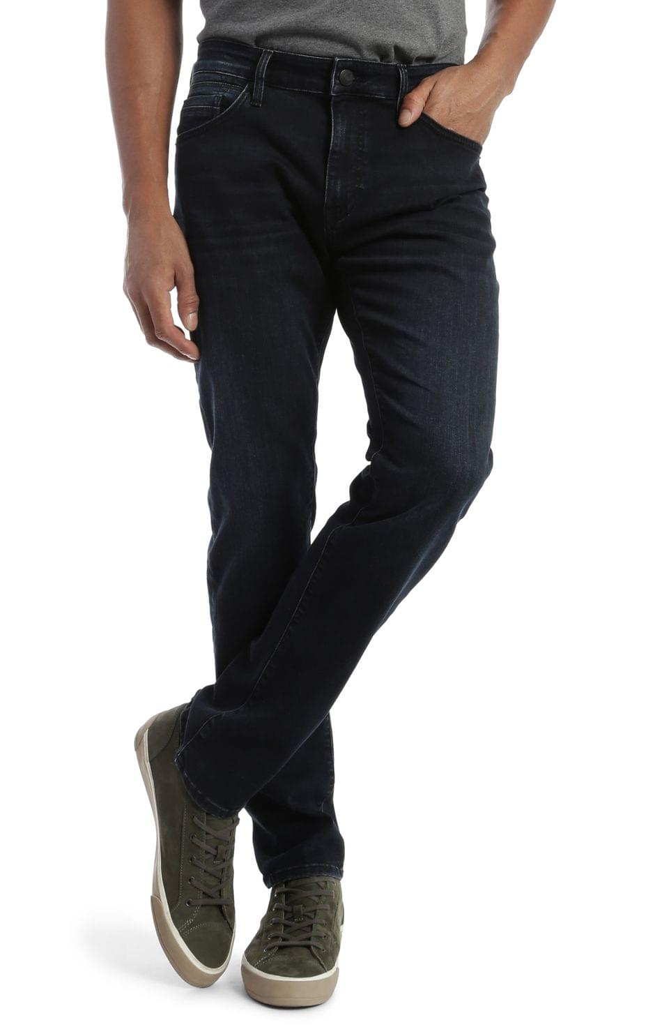 Men's Mavi Jeans Jake Slim Fit Jeans (Deep Blue-Black Williamsburg)