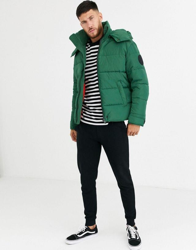 MEN Diesel W-Smith-YA-WH only the brave puffer jacket in green