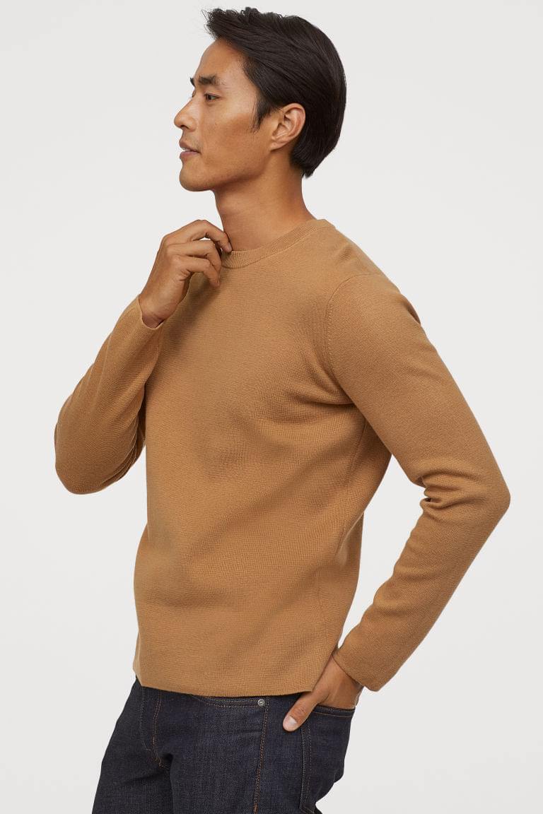 Men's Fine-knit Sweater