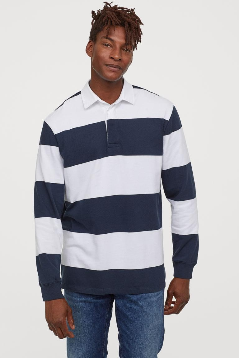Men's Cotton Rugby Shirt