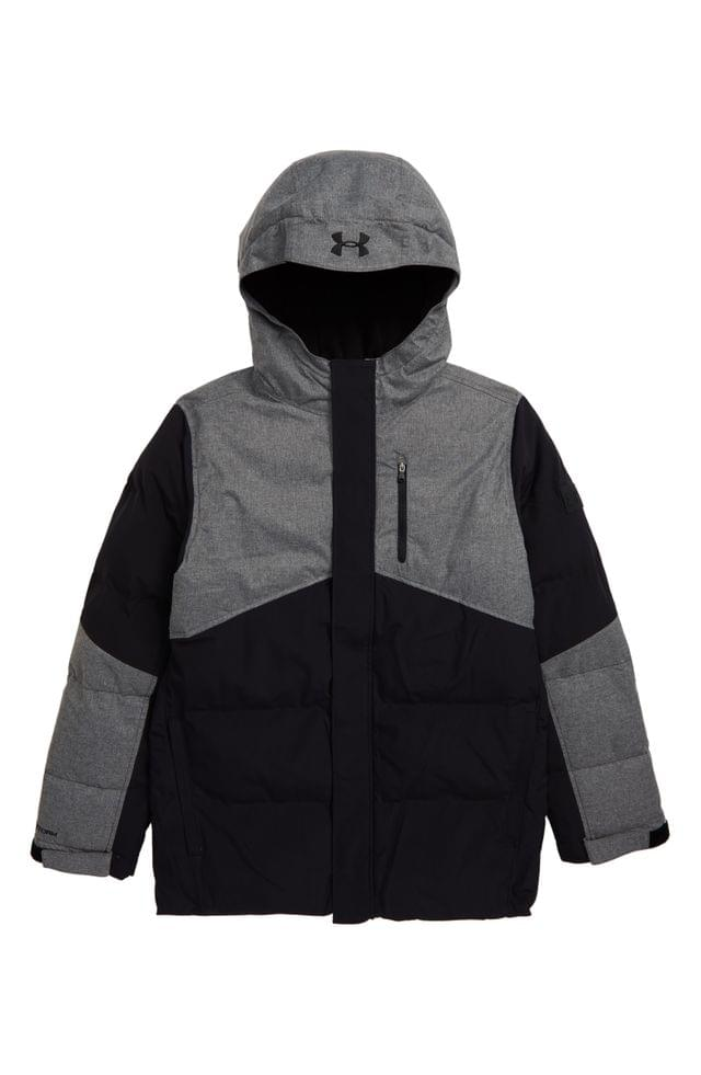KIDS Under Armour Superthaw Insulated Waterproof Hooded Jacket (Big Boys)