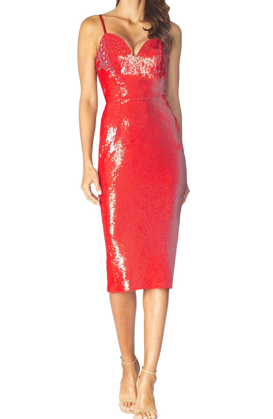Women's Dress the Population Dita Sequin Cocktail Dress