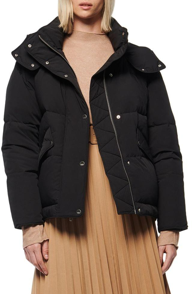 WOMEN Andrew Marc Down & Feather Puffer Jacket