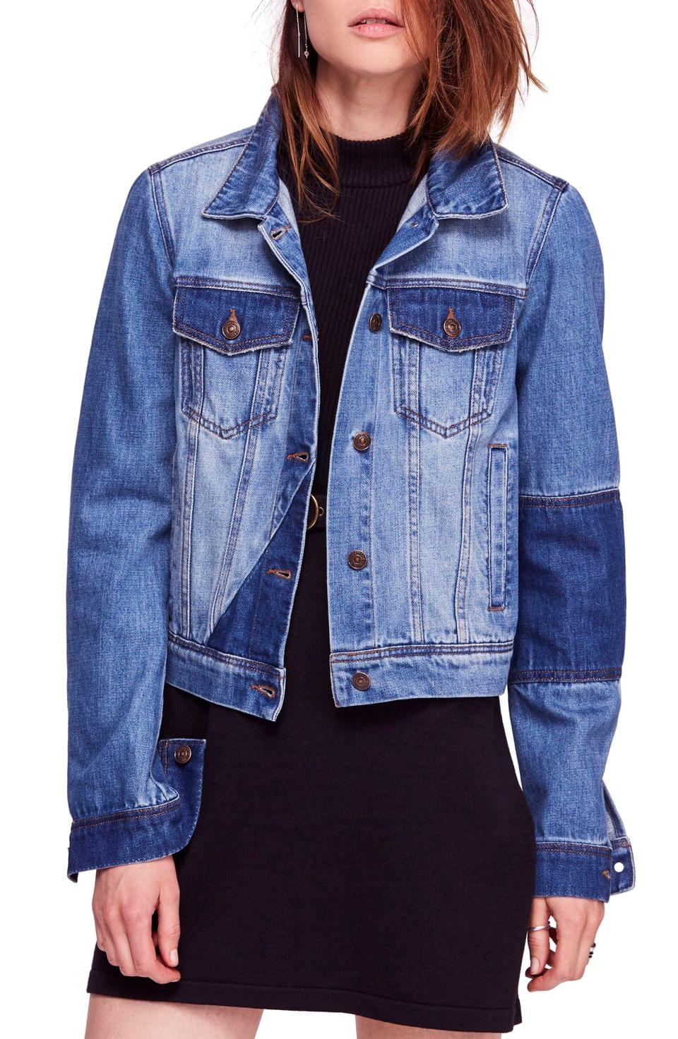 Women's Free People Rumors Denim Jacket