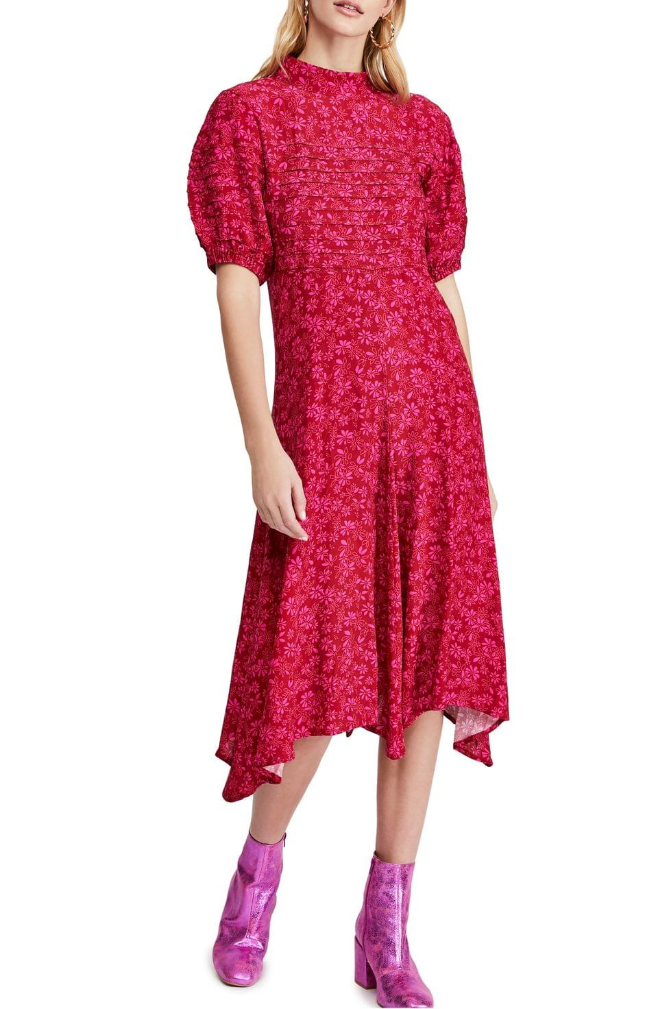 Women's Free People Jessie Floral Print Dress