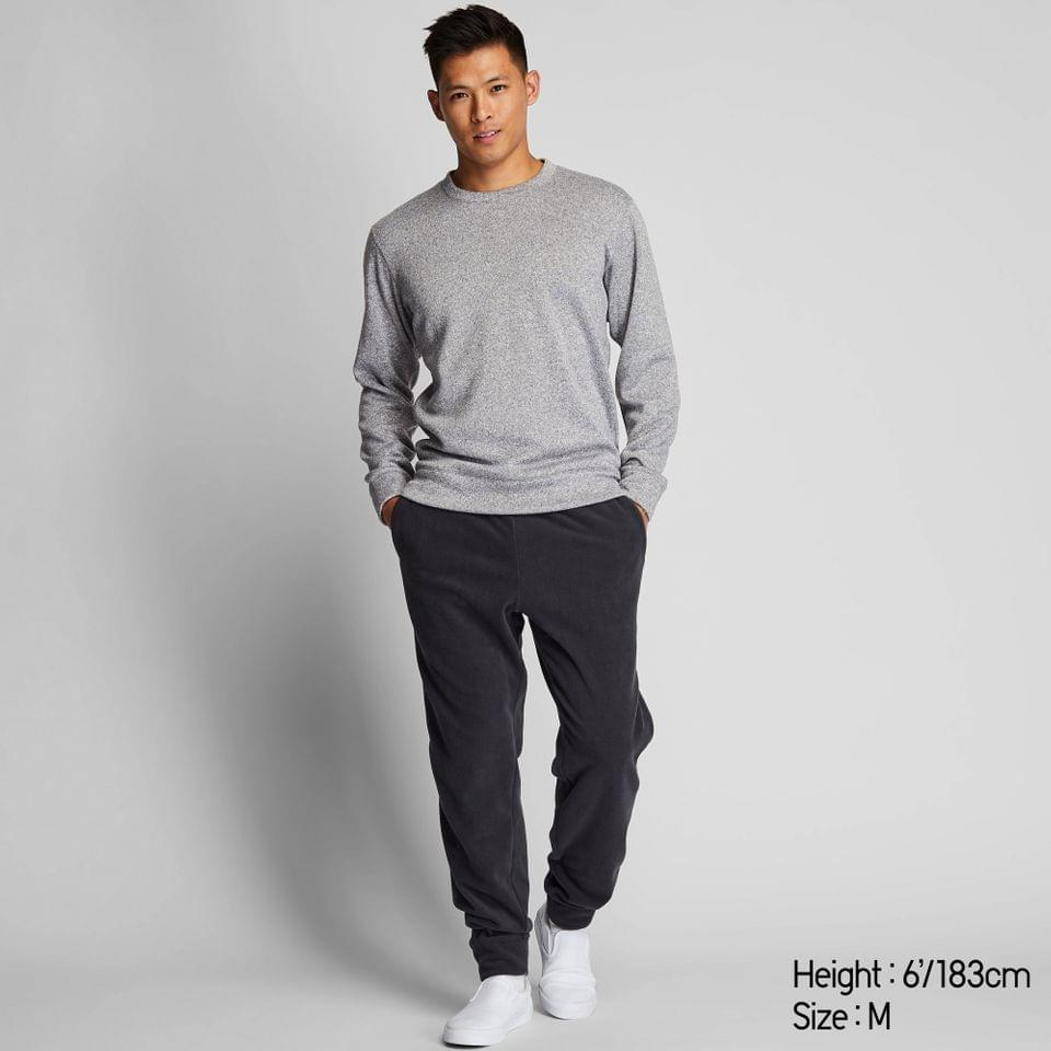 Men's MEN KNIT LONG-SLEEVE FLEECE SET