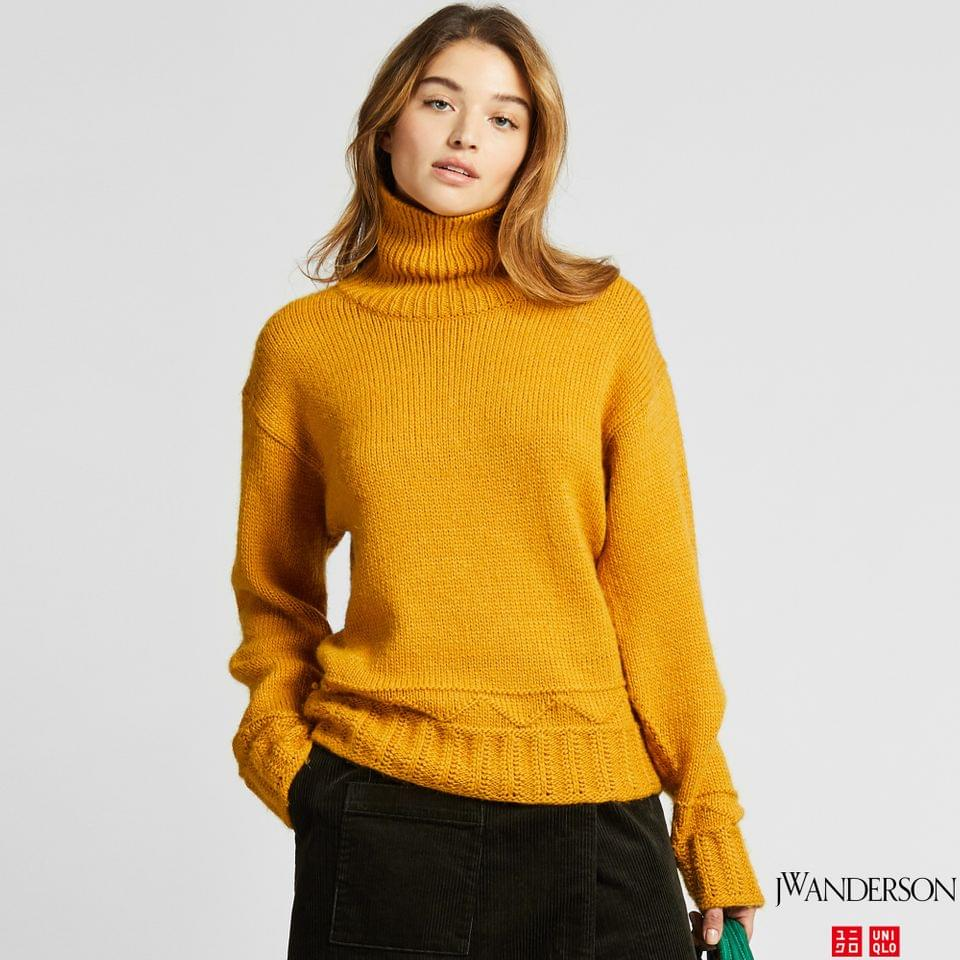 Women's WOMEN LOW GAUGE TURTLENECK SWEATER (JW ANDERSON)