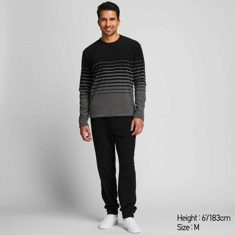Men's MEN MICRO LONG-SLEEVE FLEECE SET