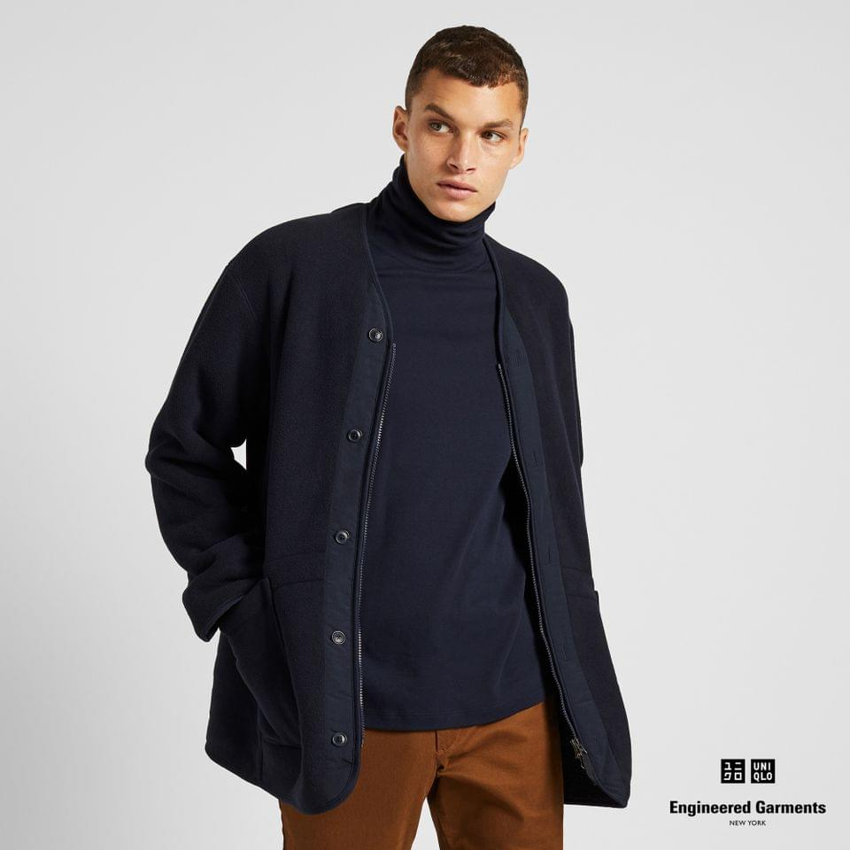 Men's MEN FLEECE COLLARLESS COAT (ENGINEERED GARMENTS)
