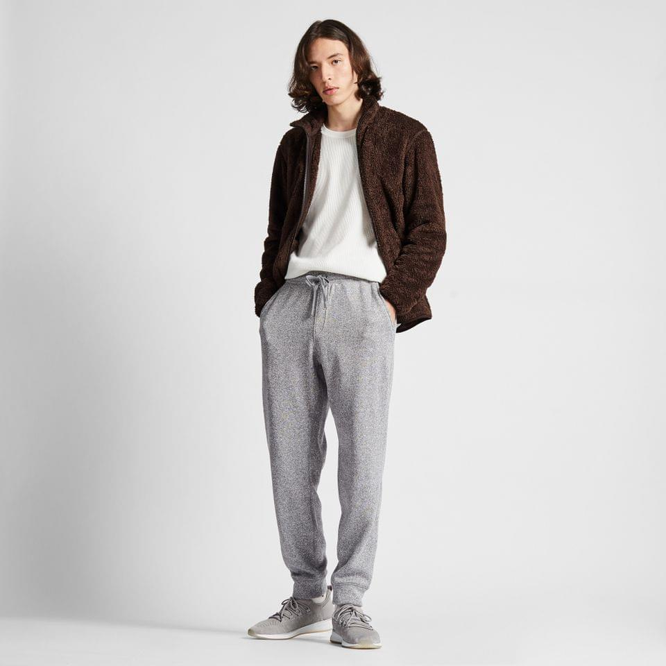 Men's MEN KNIT FLEECE EASY PANTS