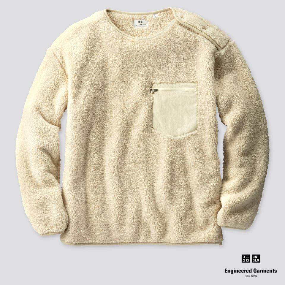 Men's MEN FLEECE PULLOVER (ENGINEERED GARMENTS)