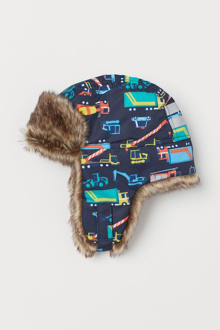 Boy's Hat with Earflaps