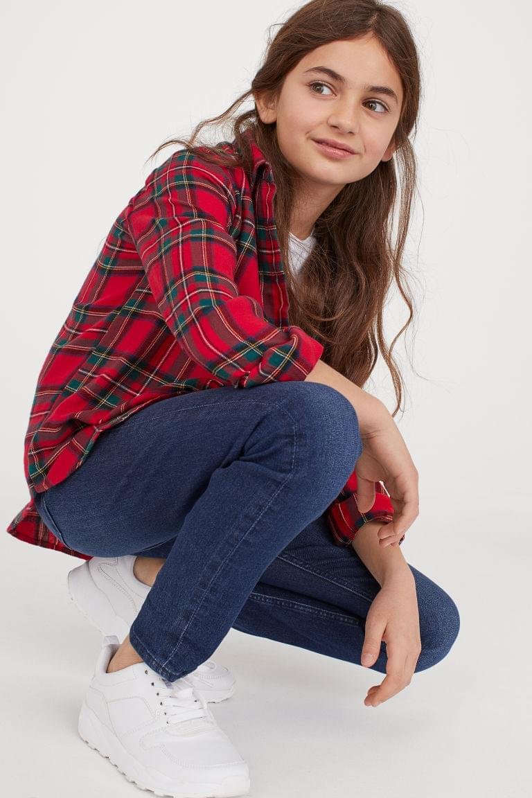 Girl's Superstretch Skinny Fit Jeans