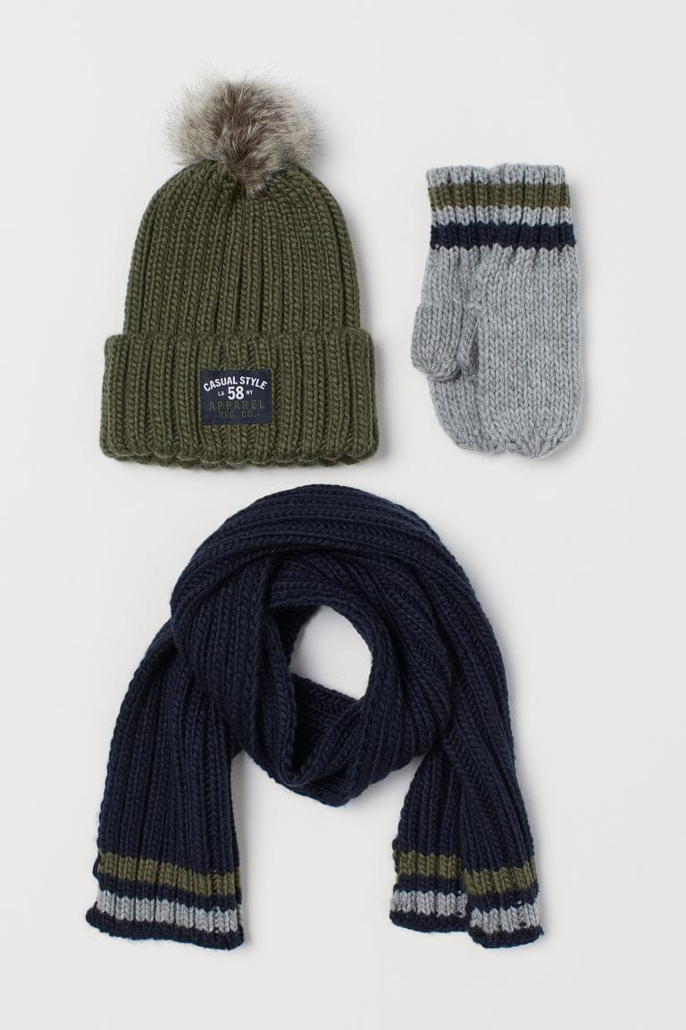 Boy's 3-piece Knit Set