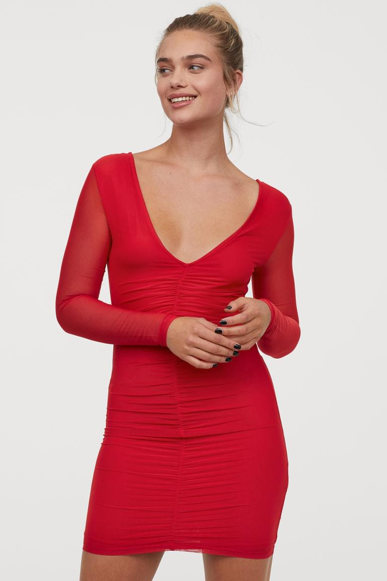 Women's V-neck Dress