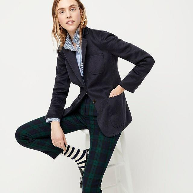 WOMEN Collection double-faced cashmere blazer